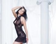 Сексуальное прозрачное платьице 6286.