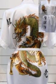 Халат-кимоно Дракон
